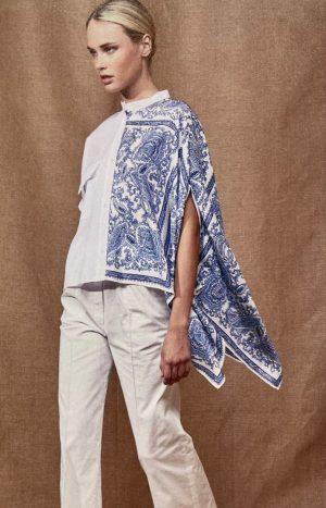 Оригінальна блуза з принтом Antonelli SS21