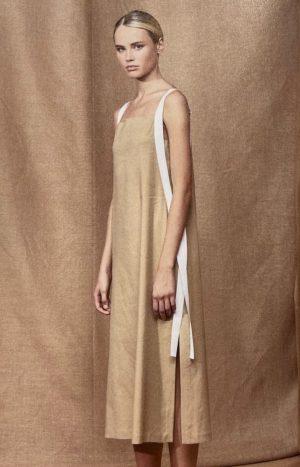 Плаття пісочного кольору Antonelli