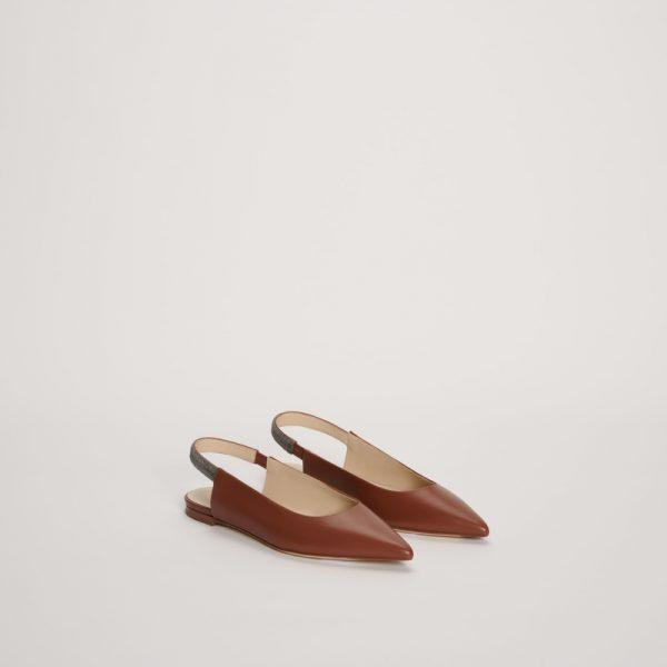 Шкіряне взуття з манілою Fabiana Filippi