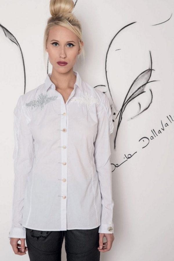 Блуза з вишивкою Elisa Cavaletti