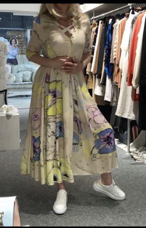 Плаття з принтом Daniela Dallavalle