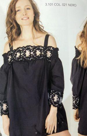 Мереживна блуза котон АР