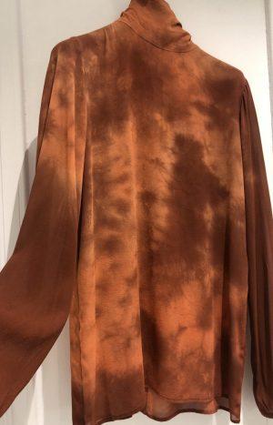 Шовкова блуза (nude)