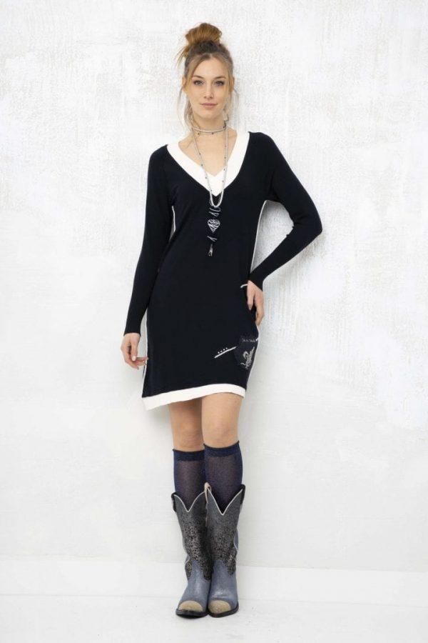Плаття з V Вирізом Elisa Cavaletti