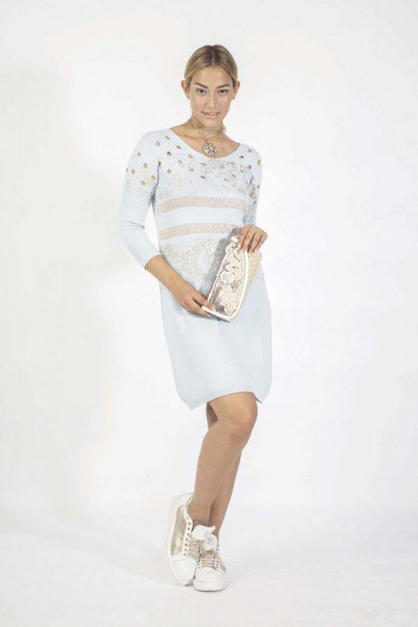 Голубе плаття Elisa Cavaletti