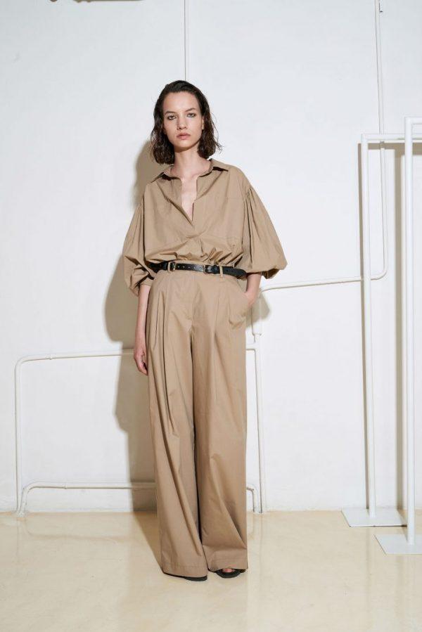 Котонові штани (nude) SS21