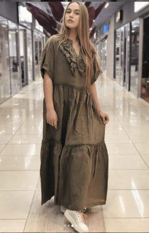 Плаття лляне (nude)