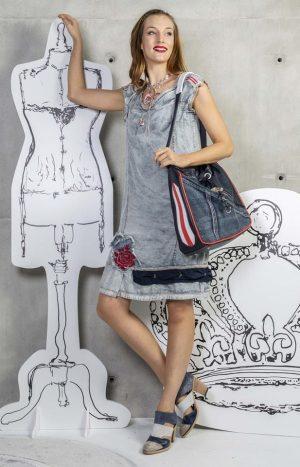 Шкіряна сумка Elisa Cavaletti