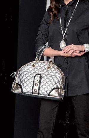 Стильна шкіряна сумка Elisa Cavaletti