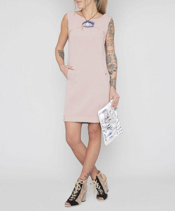 Ніжно-рожеве плаття Daniela Dallavalle