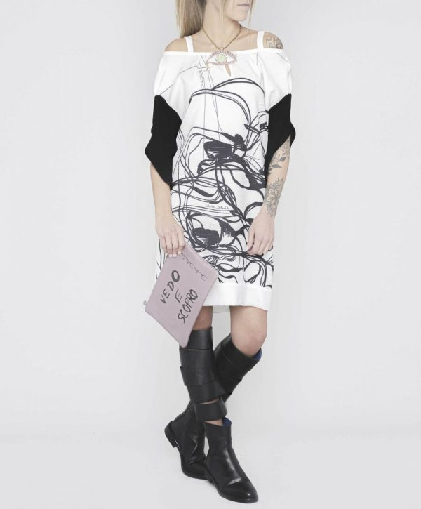 Чорно-біле плаття Daniela Dallavalle