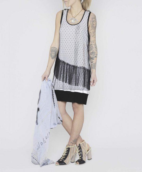 Плаття без рукавів дизайнера Daniela Dallavalle